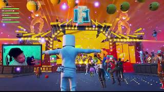 FORTNITE INDONESIA Marshmello Concert Live Event Showcase (Marshmello X Fortnite)