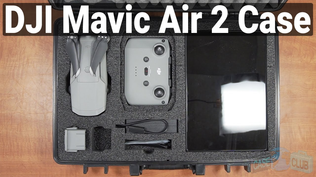 DJI Mavic Air 2 Fly More Case - Video
