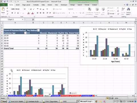 cross tabulation excel  Excel 2010 Statistics #21: Cross Tabulation With PivotTable ...
