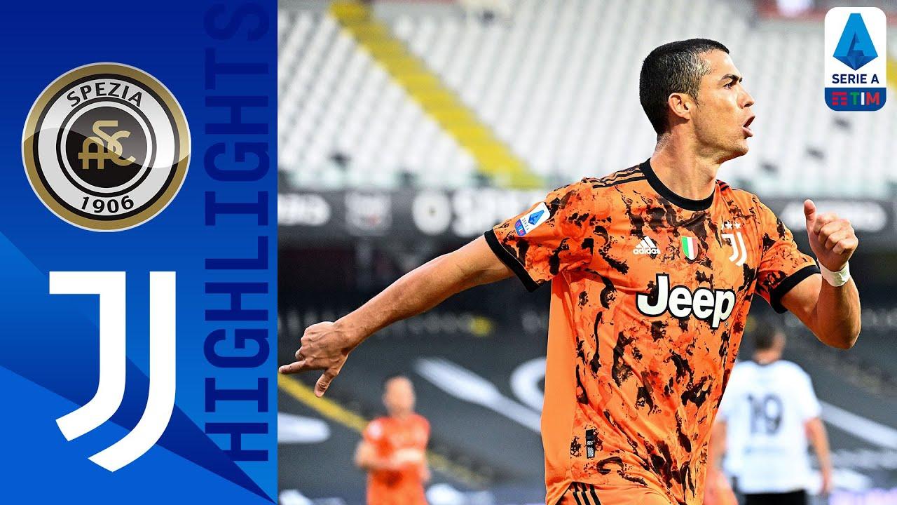 Ronaldo returns and scores 2 as Juventus beats Spezia 4-1