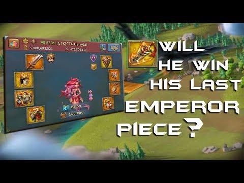[CTK]CTK HerryJai Completed HIS EMPEROR GEARS !!! - Lords Mobile