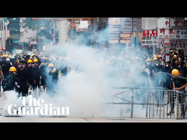 Hong Kong hit by more violence as protests enter 10th week