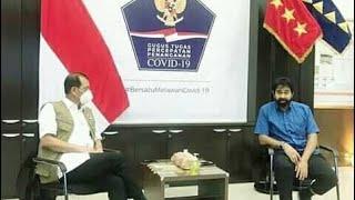 Terbaru..!!! Hasil Pertemuan Muallem Dengan Letjen Doni Monardo Ka-BNPB dan Gugus Tugas C0vid-19