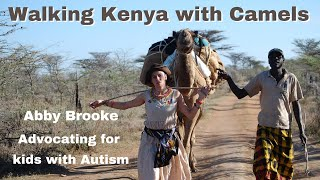 Gambar cover Waking Kenya with Camels - Abby Brooke Walking Autism