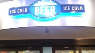 Gigantic Walk-in Beer Cooler At The Racetrac!