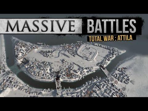 Winter Siege of the River City! (Massive Battles)