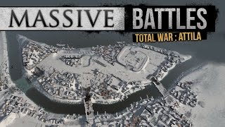 Winter Siege of the River City! (Massive Battles)