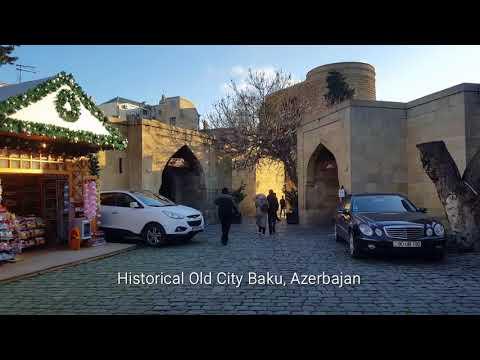 Historical Old City Of Baku, Azerbaijan