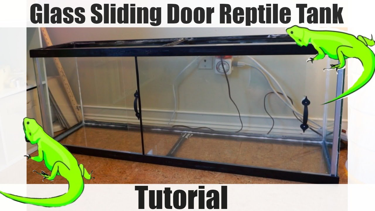 How To Add Glass Sliding Doors To A Reptile Vivarium