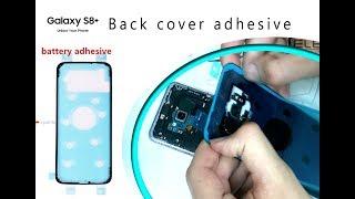Samsung S8 PLUS (G955F) How to change back cover adhesive sticker / Wymiana uszczelki | Selekt