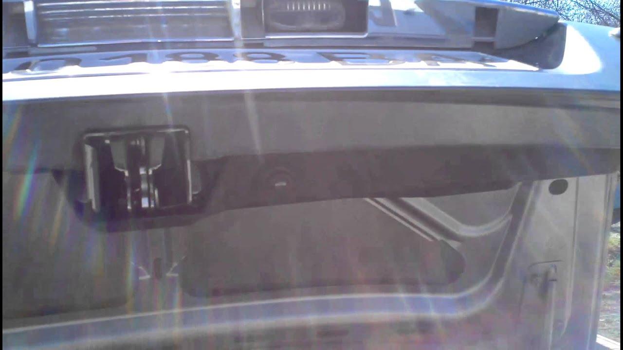Электропривод крышки багажника Лада Приора седан.