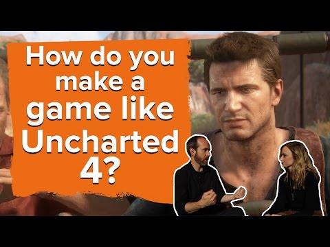 How do you make a game like Uncharted 4? - Developer interview