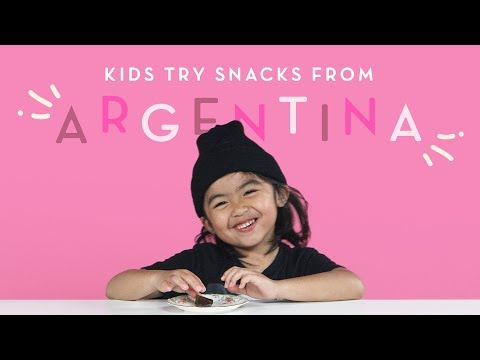 Kids Try Snacks From Argentina | Kids Try | HiHo Kids