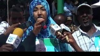 Wasiirada Haweenka &  Ee Jubaland - Dadka Diidn Jubaland Waxaan Idiin leenahay ''Bullshit