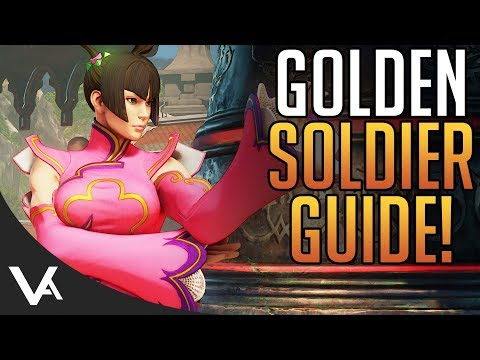SFV - Golden Soldier Guide! Easy Fight Money & Costume Schedule For Street Fighter 5 Arcade Edition