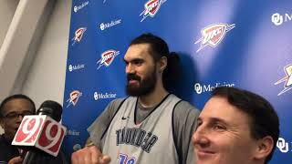 Thunder - Steven Adams on Game 3 vs Portland