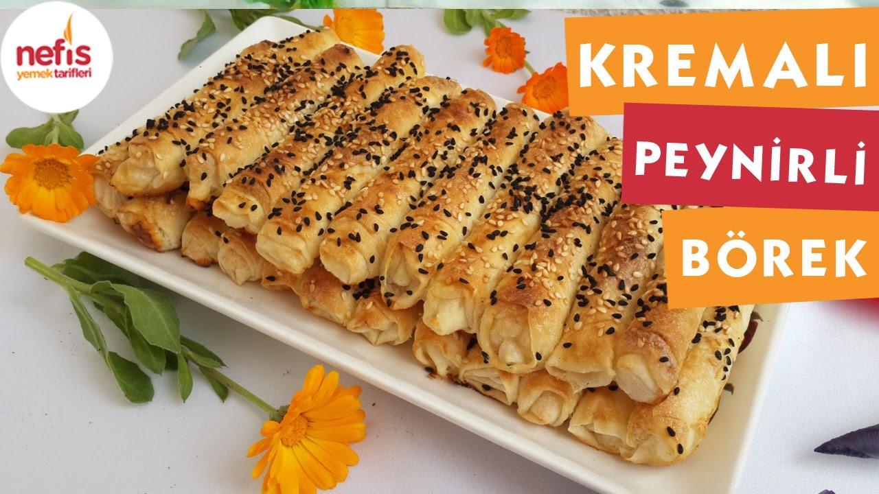Kremalı Gül Börek