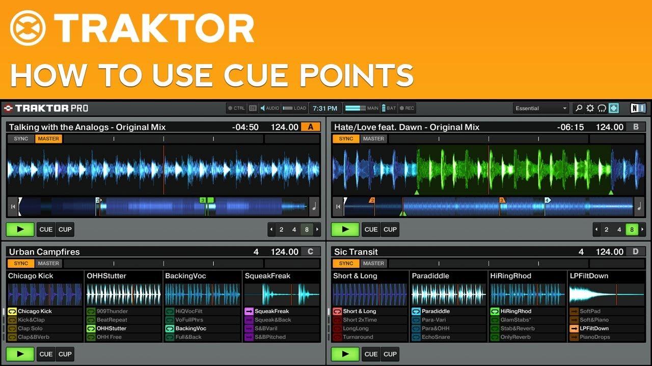 traktor pro 2 tutorial cue point basics youtube rh youtube com Traktor Pro 2 5 Traktor 2 Demo