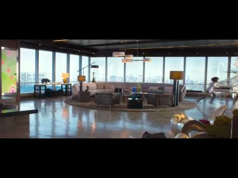 """Annie Official Clip """"Smart House"""" (2014) - Jamie Foxx, Quvenzhané Wallis HD"""