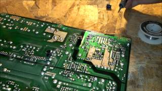 Samsung lcd tv wont turn on repair blinking red light