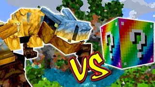 TIGREX VS. LUCKY BLOCK RAINBOW (MINECRAFT LUCKY BLOCK CHALLENGE)