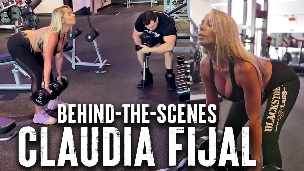 BTS Claudia Fijal Leg Workout with Joe Reizer   Reel Muscle