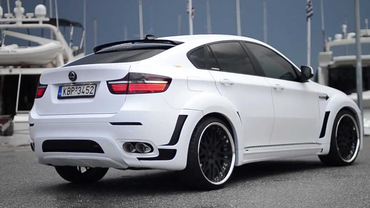 Foiltech Car Wrapping Hamann Bmw X6 Tycoon White Matte