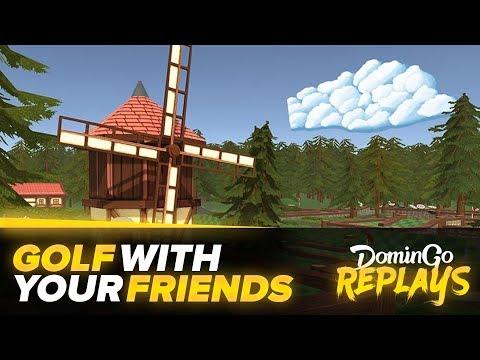 Golf with your friends avec les potos !
