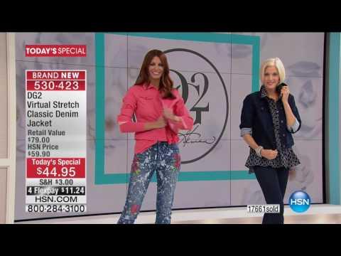 HSN   Diane Gilman Fashions 03.07.2017 - 10 AM