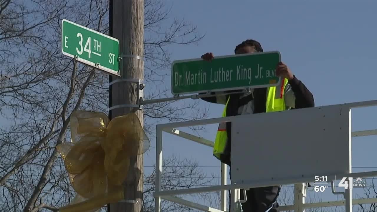 KC renames Blue Parkway to honor Dr. Martin Luther King Jr.