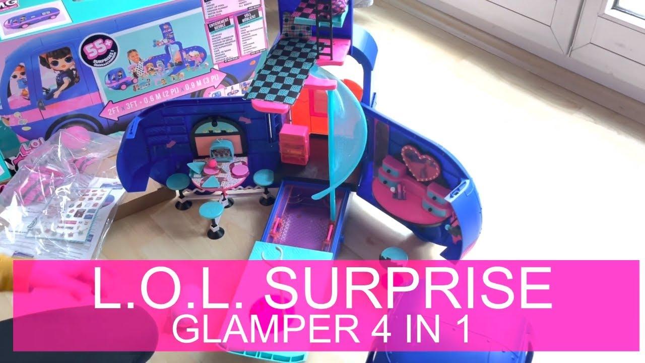BIG  Glamper Car House with Makeup Room