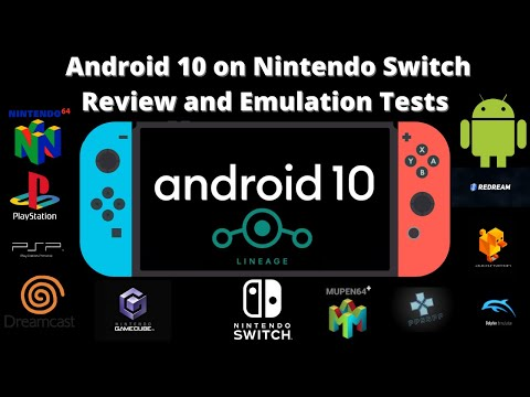 Android 10 Switchroot on Nintendo Switch Review and Emulation Tests