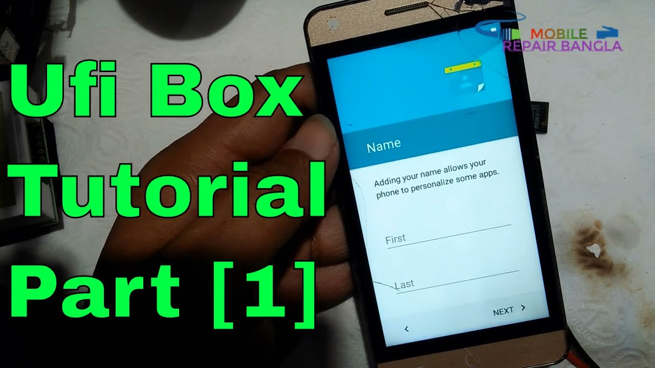 Any Spd Cpu Hang Logo Dead Emmc Repair Partition & Flashing By Ufi Box  Tutorial Part 1 [Complete]