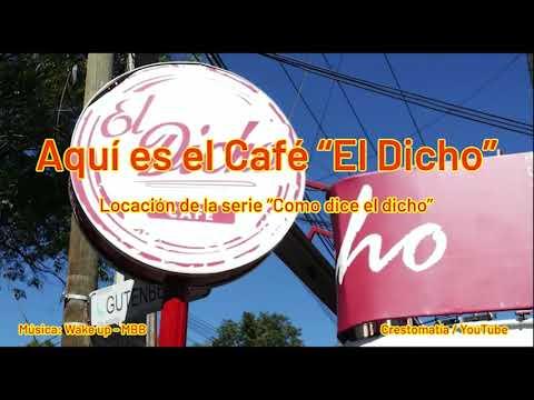 Aquí es el Café El Dicho, donde se graba Como Dice el Dicho