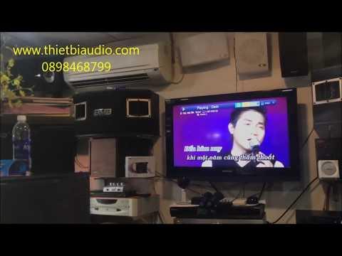 Test âm thanh vang T-Audio D10 Karaoke đẳng cấp