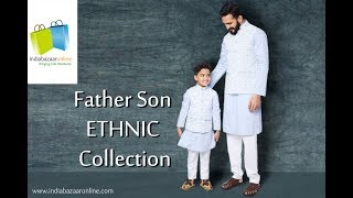Indiabazaaronline Father Son Ethnic Collection