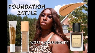 ARE THEY WORTH IT? NEW FOUNDATION COMPARISON ft Pat Mcgrath, Fenty Beauty & more!
