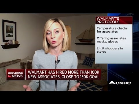 Walmart Has Hired More Than 100,000 Temporary Workers At Stores, Fulfillment And Distribution Center