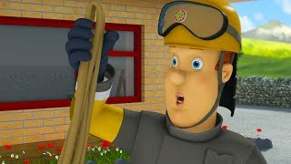 Fireman Sam New Episodes | Fireman Sam saves Pontypandy from the flames - Marathon 🚒 🔥 Kids Movies