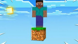 One Block Survival | Minecraft But You Only Get ONE BLOCK..