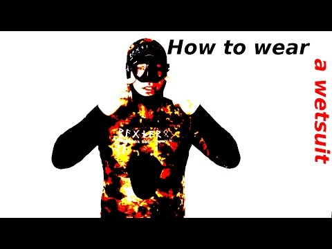 #9 - How to wear a spearfishing wetsuit