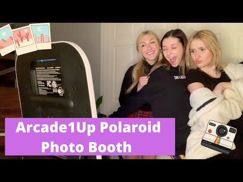 Sorellé- Product Review- Arcade1Up Polaroid Photo Booth from Sorelle