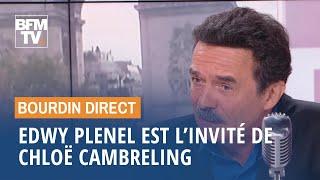 Edwy Plenel face à Chloë Cambreling en direct