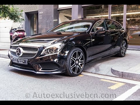 Mercedes Benz Cls 350 D Shooting Brake Amg Plus 2016 Obsidiana