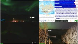 Volcanoverse:  Iceland Volcano and Earthquake activity. Live streaming webcams