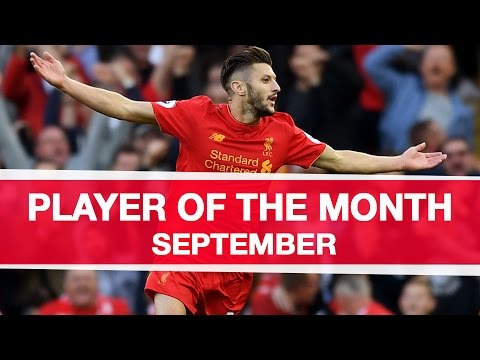 The best of Adam Lallana | Standard Chartered Player of the Month - September