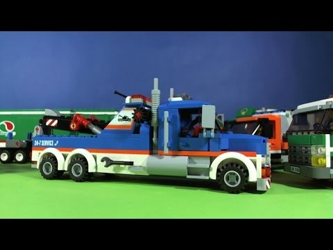 LEGO CITY TOW TRUCK 60056 - YouTube