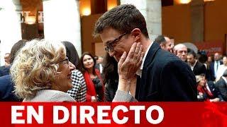 DIRECTO   CARMENA y ERREJÓN presentan MÁS MADRID
