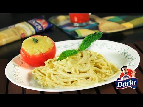 spaghetti-mantequilla-doria-con-salsa-de-queso-y-oregano
