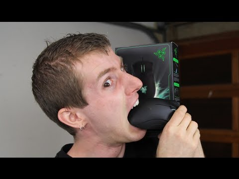 Razer Deathadder 2013 Optical Gaming Mouse Unboxing & Overview
